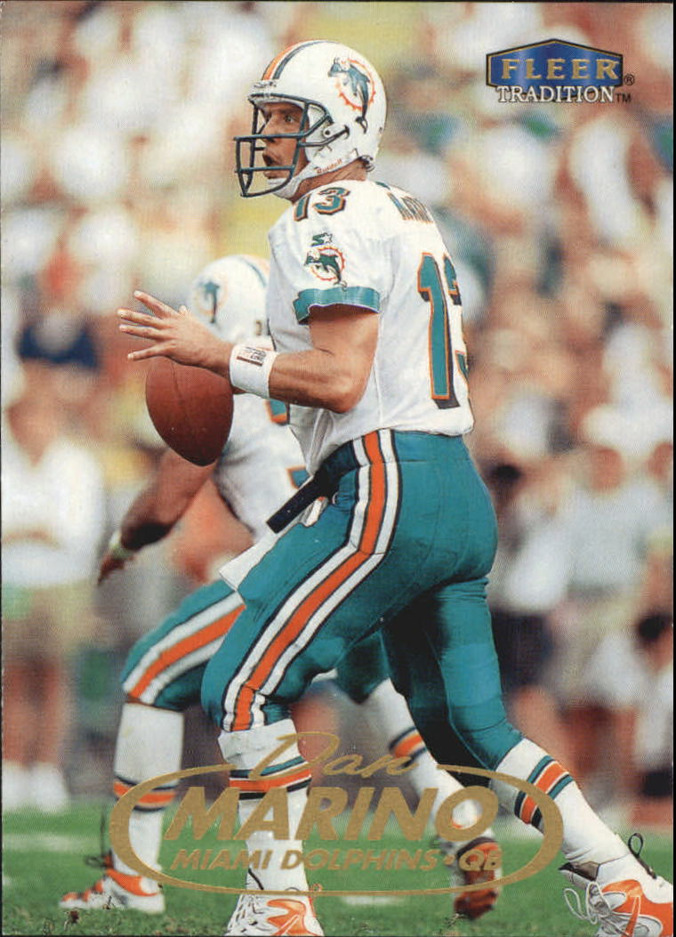 1998 Fleer Tradition #5 Dan Marino
