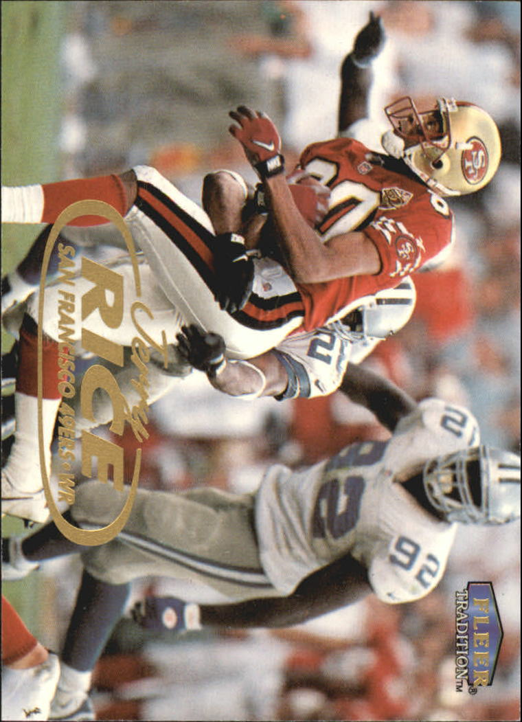 1998 Fleer Tradition #7 Jerry Rice