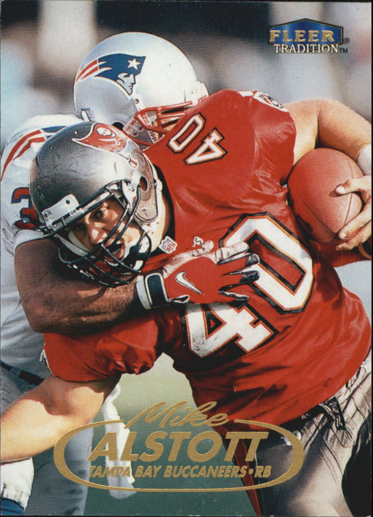 1998 Fleer Tradition #10 Mike Alstott