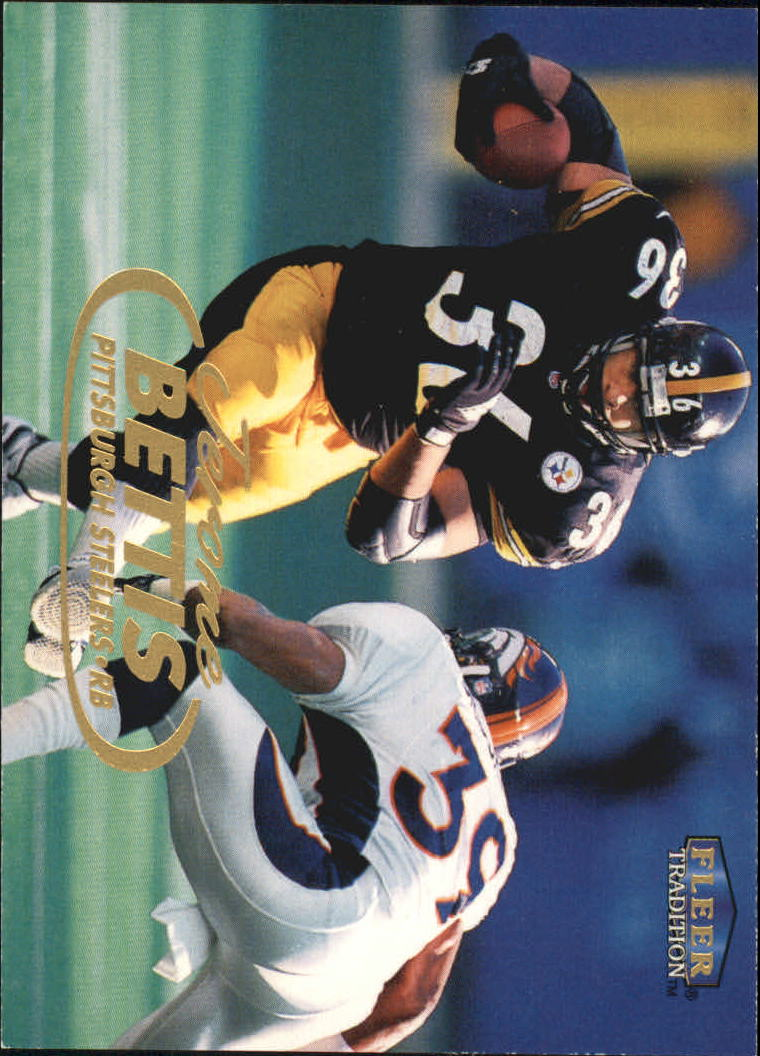 1998 Fleer Tradition #18 Jerome Bettis