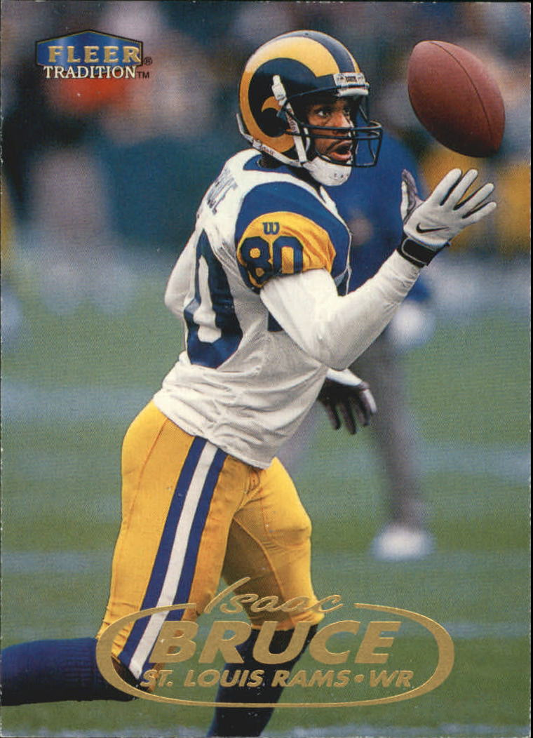 1998 Fleer Tradition #21 Isaac Bruce