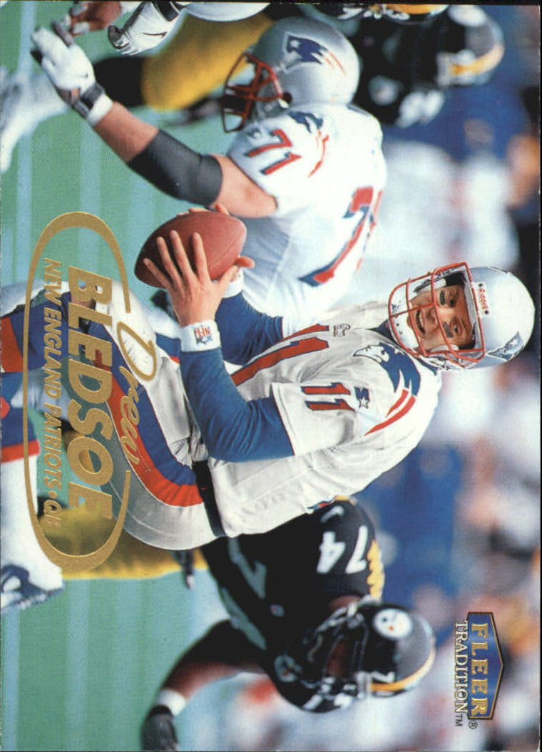1998 Fleer Tradition #76 Drew Bledsoe