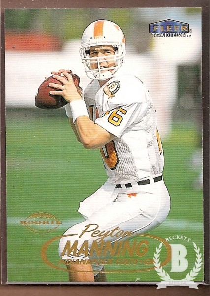 1998 Fleer Tradition #235 Peyton Manning RC