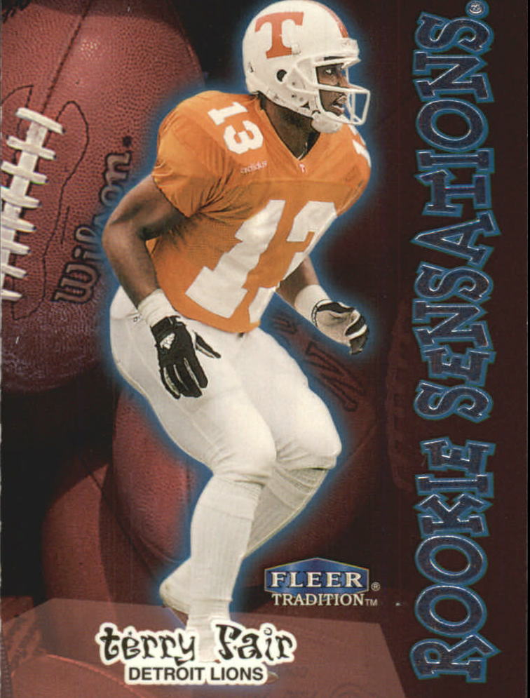 1998 Fleer Tradition Rookie Sensations #7RS Terry Fair