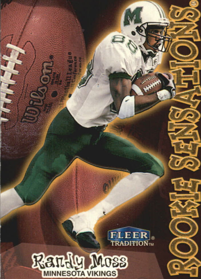 1998 Fleer Tradition Rookie Sensations #10RS Randy Moss