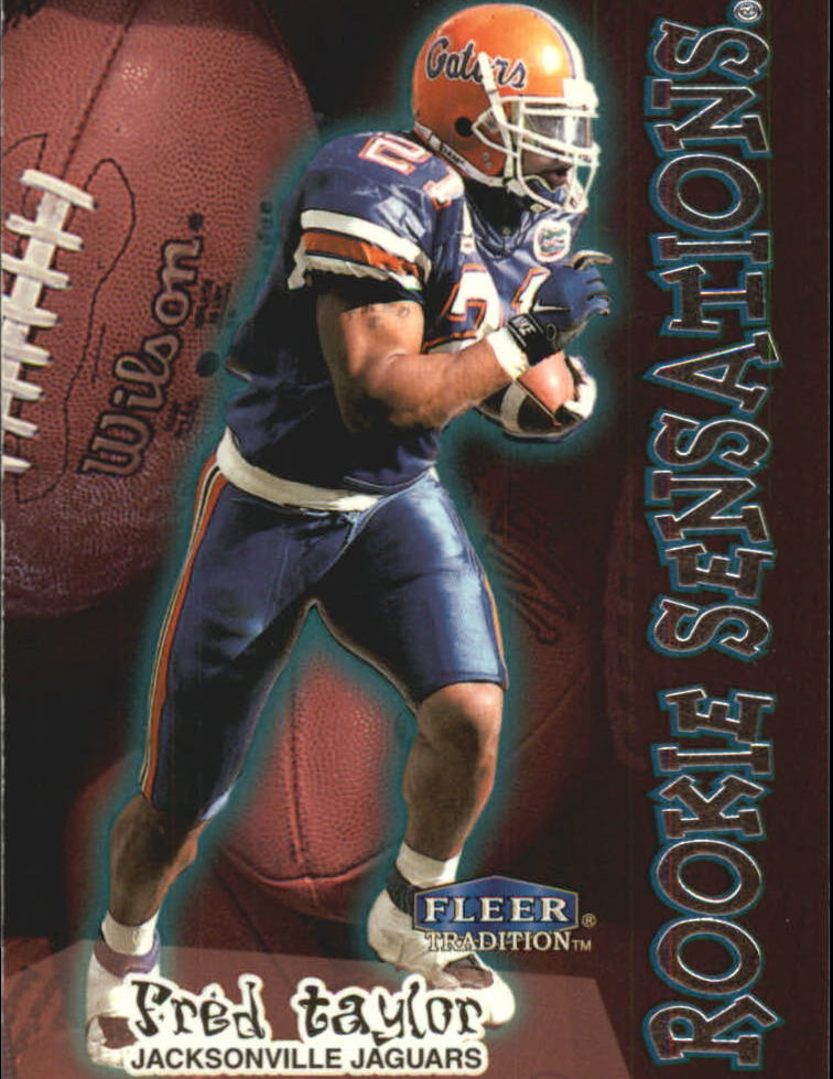 1998 Fleer Tradition Rookie Sensations #12RS Fred Taylor