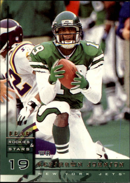 1998 Leaf Rookies and Stars #1 Keyshawn Johnson