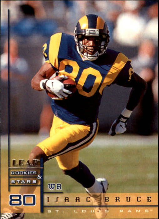 1998 Leaf Rookies and Stars #85 Isaac Bruce