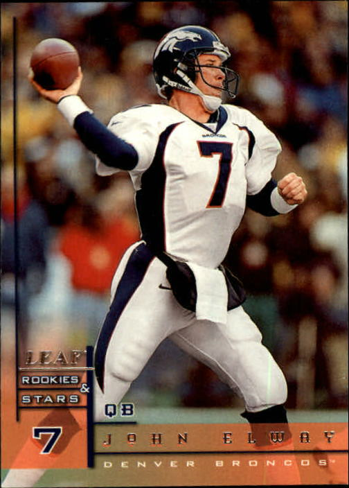 1998 Leaf Rookies and Stars #120 John Elway