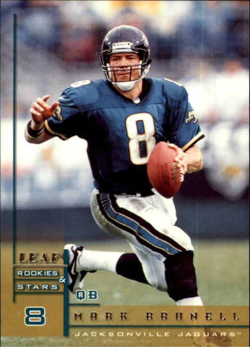 1998 Leaf Rookies and Stars #121 Mark Brunell