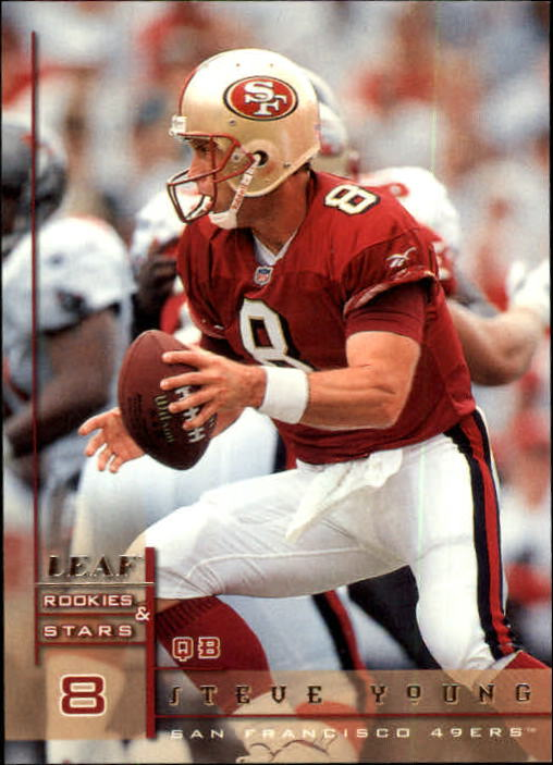 1998 Leaf Rookies and Stars #126 Steve Young