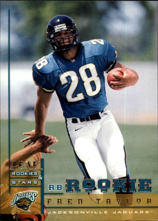 1998 Leaf Rookies and Stars #218 Fred Taylor RC