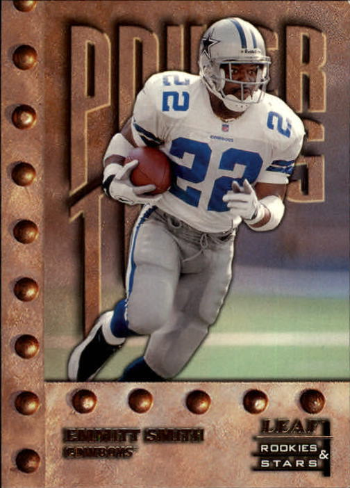 1998 Leaf Rookies and Stars #243 Emmitt Smith PT