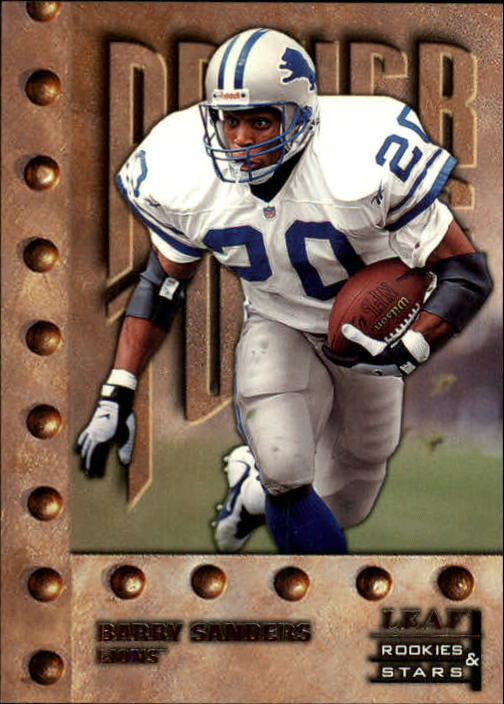1998 Leaf Rookies and Stars #244 Barry Sanders PT