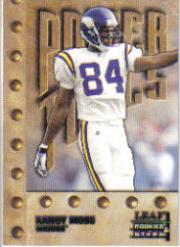 1998 Leaf Rookies and Stars #266 Randy Moss PT