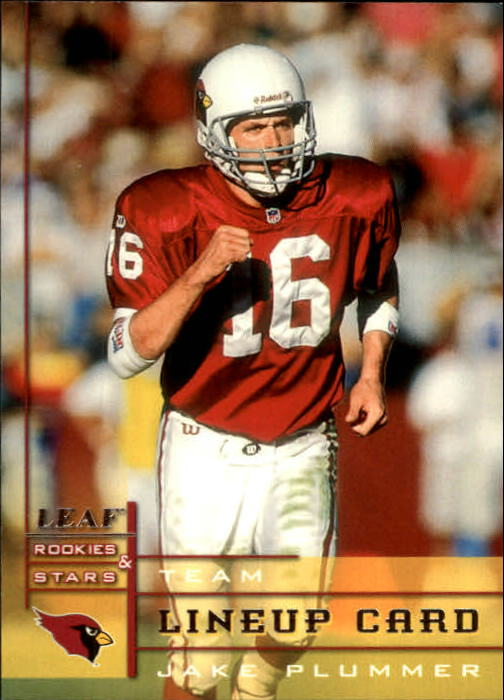 1998 Leaf Rookies and Stars #283 Jake Plummer TL
