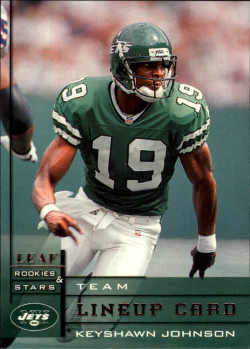1998 Leaf Rookies and Stars #298 Keyshawn Johnson TL
