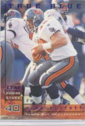 1998 Leaf Rookies and Stars True Blue #130 Mike Alstott