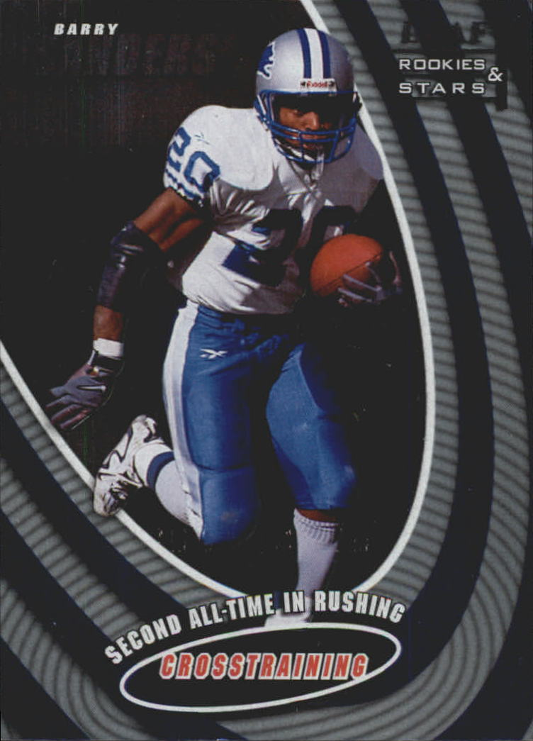 1998 Leaf Rookies and Stars Cross Training #3 Barry Sanders