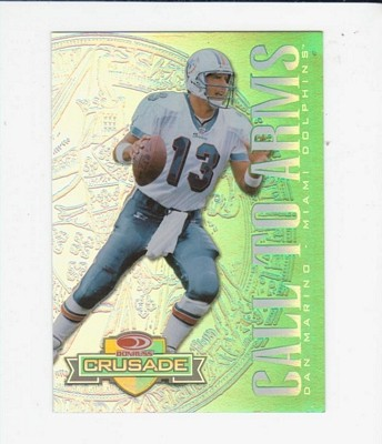 1998 Leaf Rookies and Stars Crusade Green #2 Dan Marino