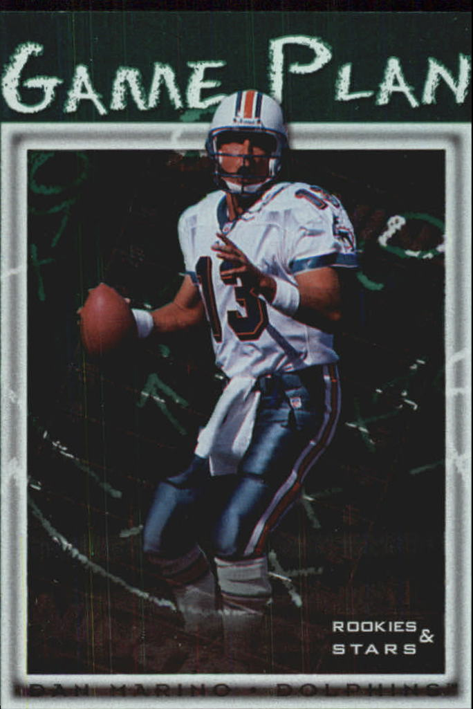 1998 Leaf Rookies and Stars Game Plan #6 Dan Marino