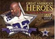 1998 Leaf Rookies and Stars Great American Heroes #3 Emmitt Smith