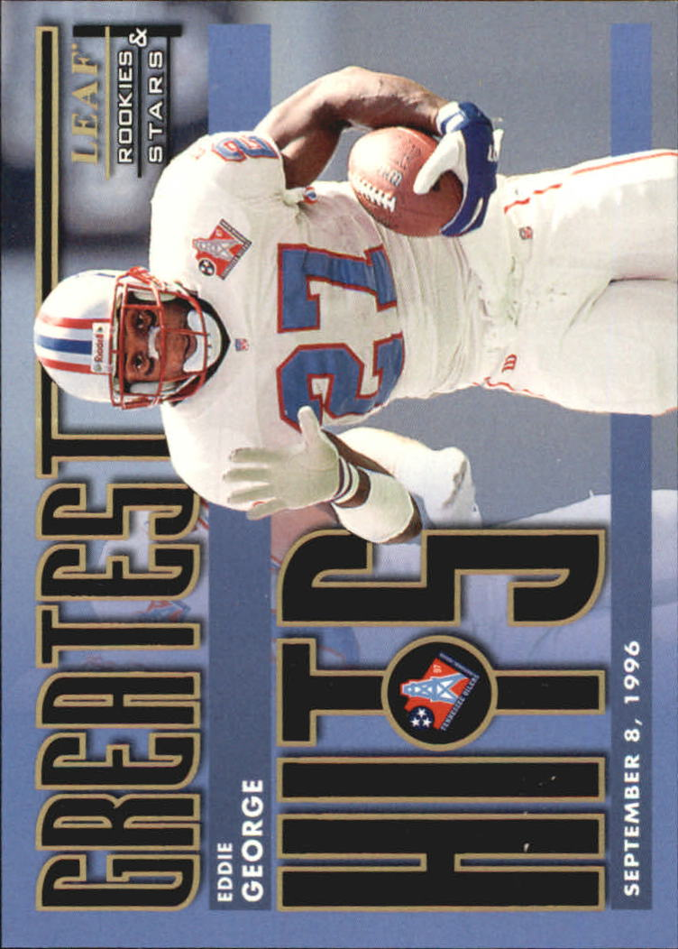 1998 Leaf Rookies and Stars Greatest Hits #2 Eddie George