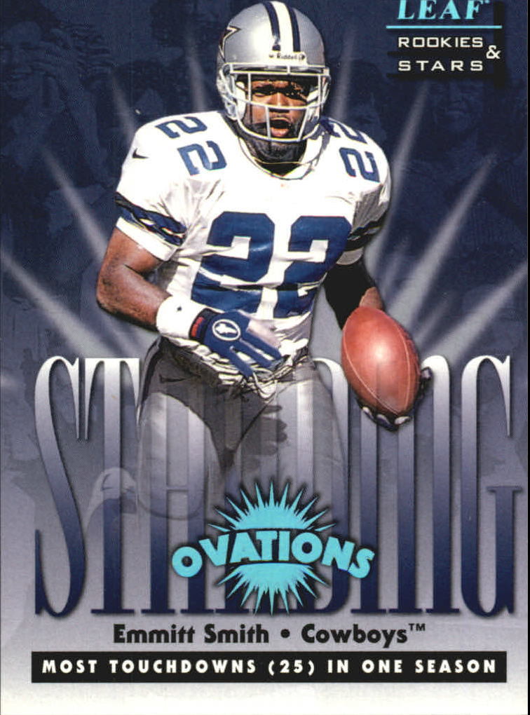 1998 Leaf Rookies and Stars Standing Ovation #3 Emmitt Smith