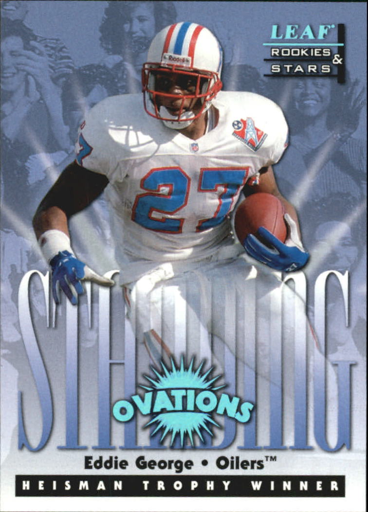 1998 Leaf Rookies and Stars Standing Ovation #10 Eddie George