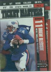 1998 Leaf Rookies and Stars Ticket Masters #6 Drew Bledsoe/Robert Edwards