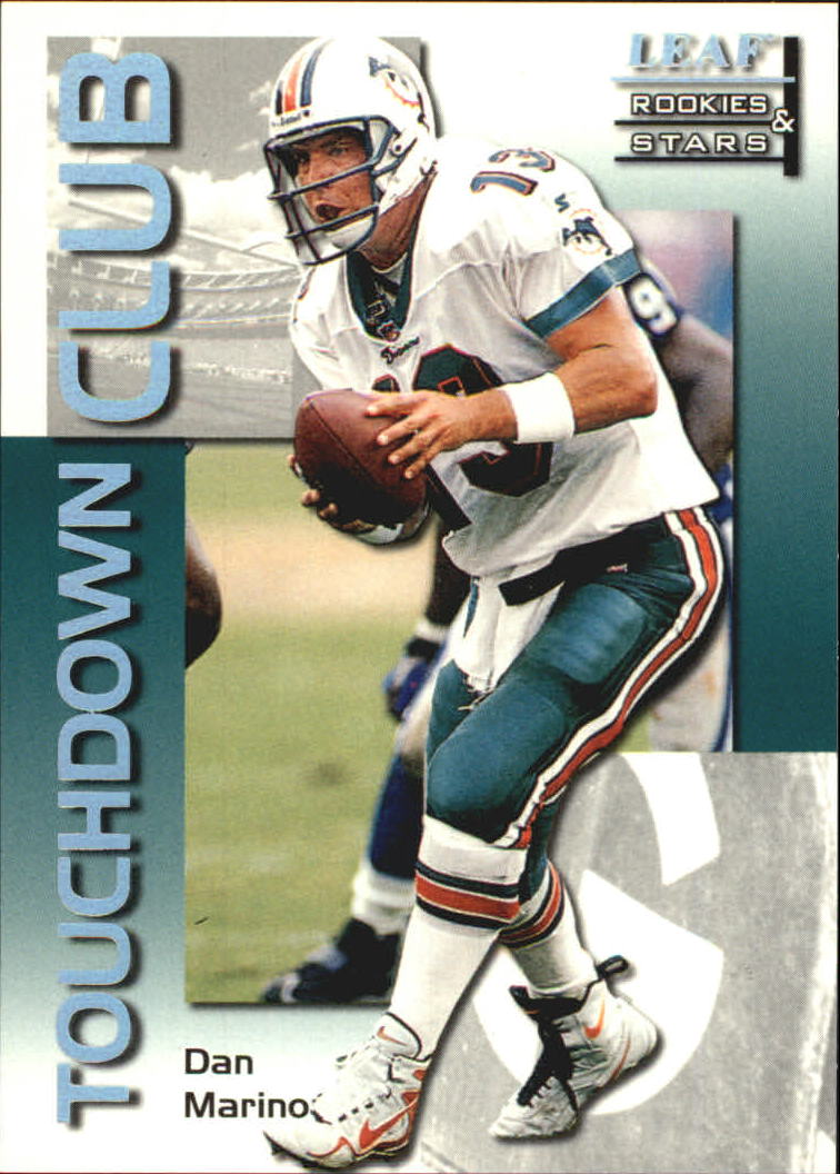 1998 Leaf Rookies and Stars Touchdown Club #2 Dan Marino