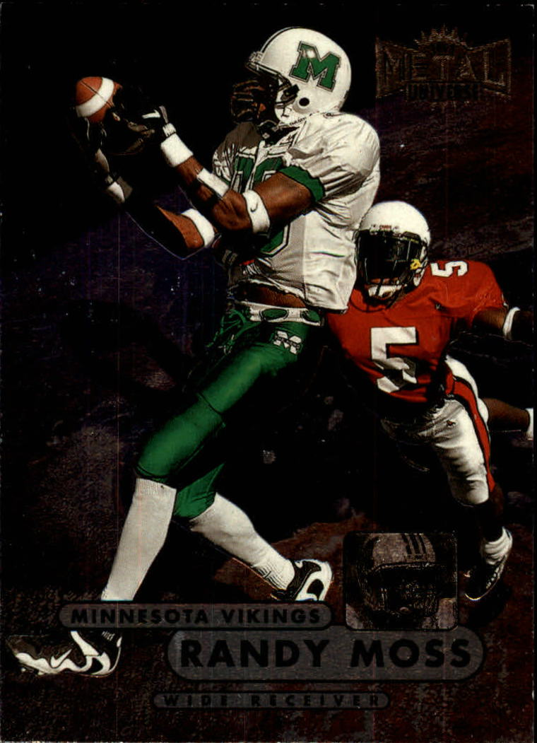 1998 Metal Universe #190 Randy Moss RC