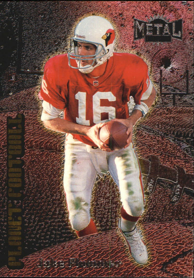 1998 Metal Universe Planet Football #4 Jake Plummer