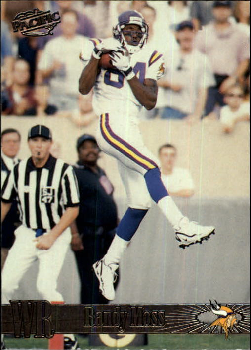1998 Pacific #244 Randy Moss RC