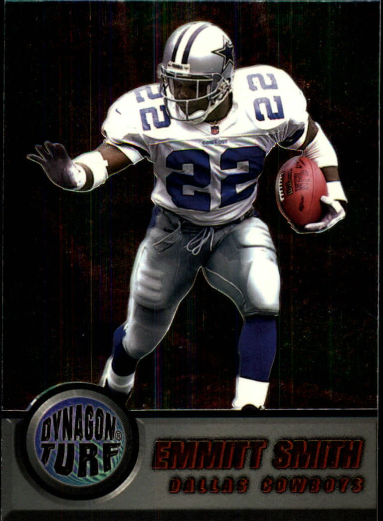 1998 Pacific Dynagon Turf #3 Emmitt Smith