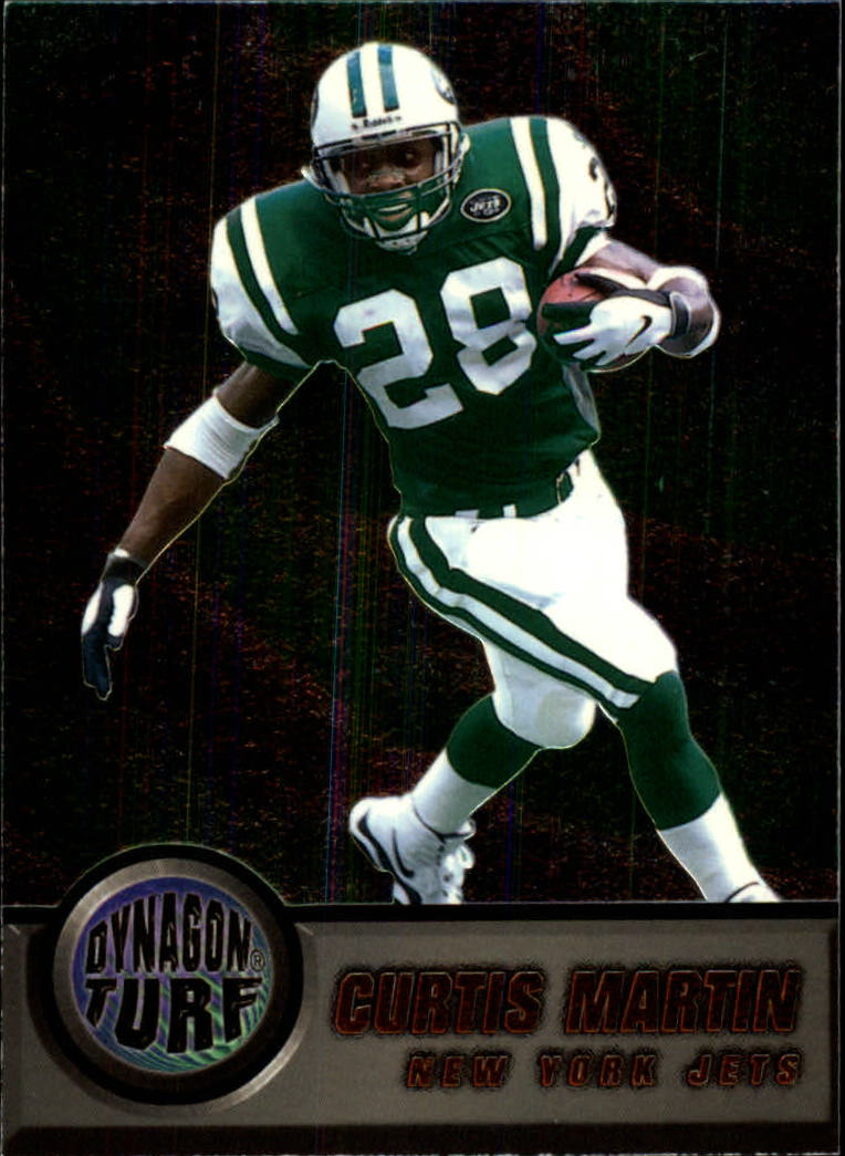 1998 Pacific Dynagon Turf #12 Curtis Martin