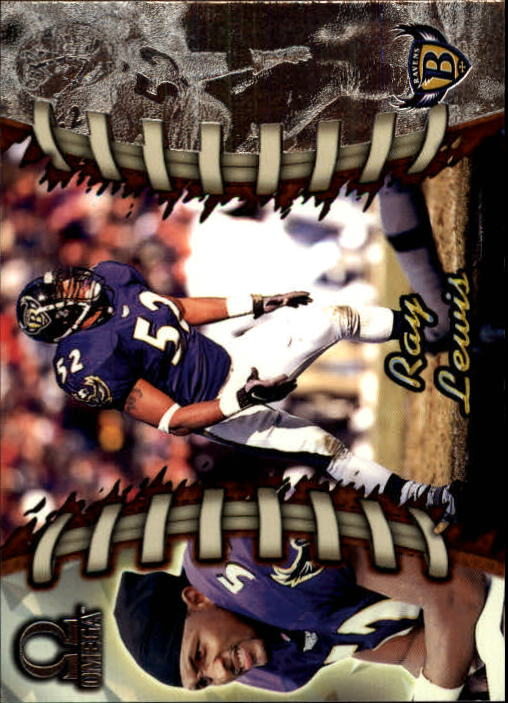 1998 Pacific Omega #20 Ray Lewis