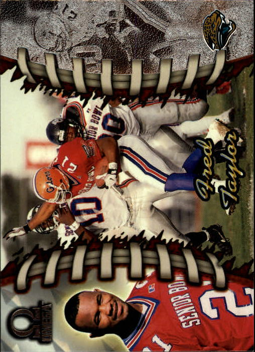 1998 Pacific Omega #112 Fred Taylor RC