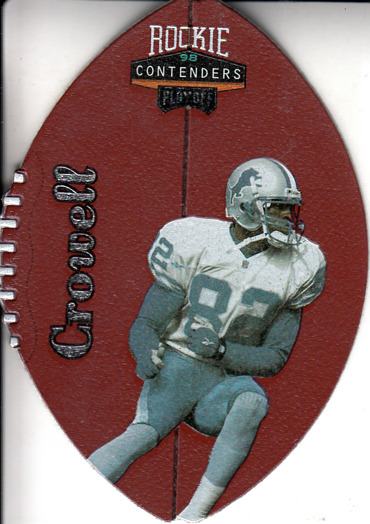 1998 Playoff Contenders Leather #27 Germane Crowell