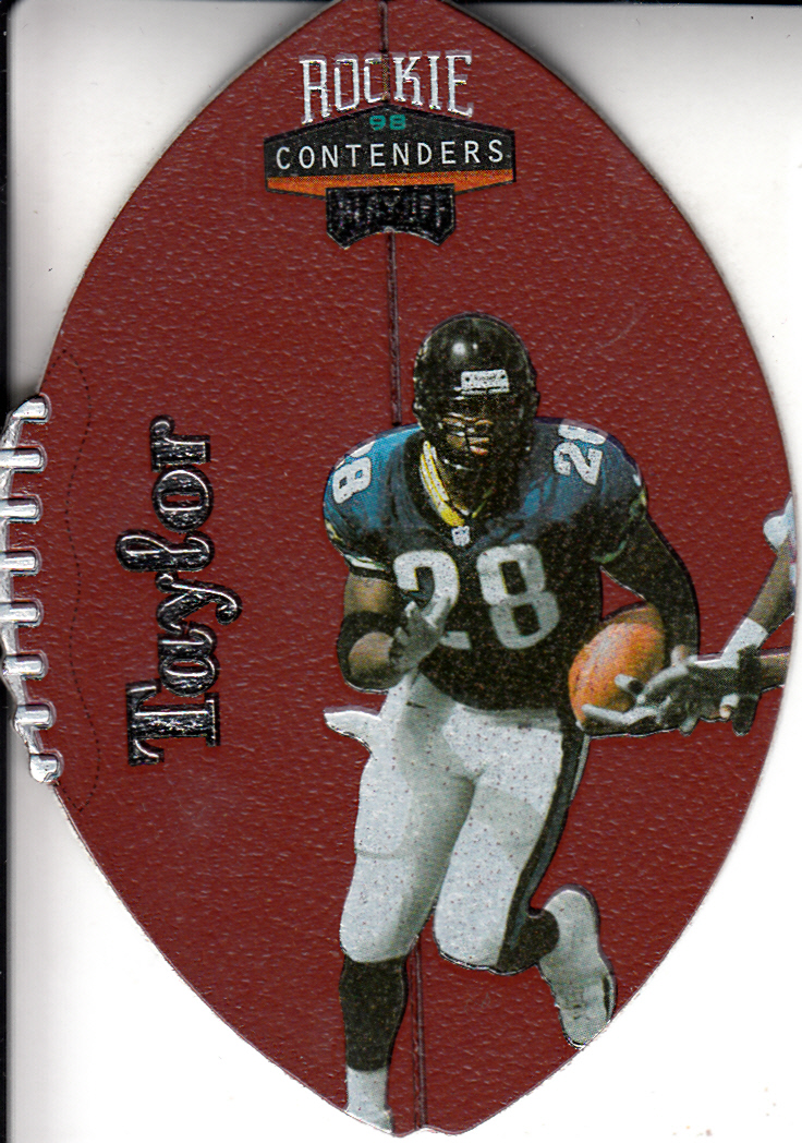 1998 Playoff Contenders Leather #42 Fred Taylor
