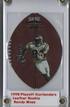 1998 Playoff Contenders Leather #52 Randy Moss