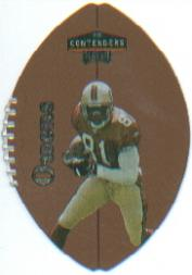 1998 Playoff Contenders Leather #80 Terrell Owens