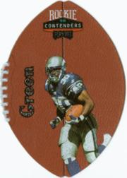 1998 Playoff Contenders Leather #84 Ahman Green