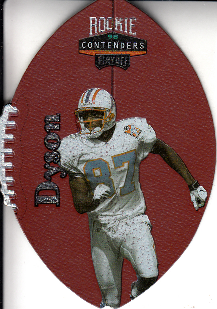 1998 Playoff Contenders Leather #94 Kevin Dyson
