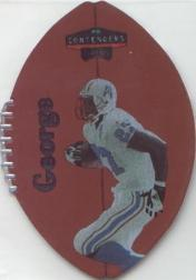 1998 Playoff Contenders Leather #95 Eddie George