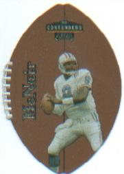 1998 Playoff Contenders Leather #96 Steve McNair