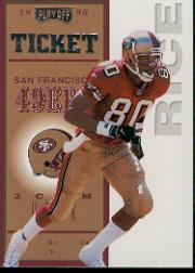 1998 Playoff Contenders Ticket #66 Jerry Rice