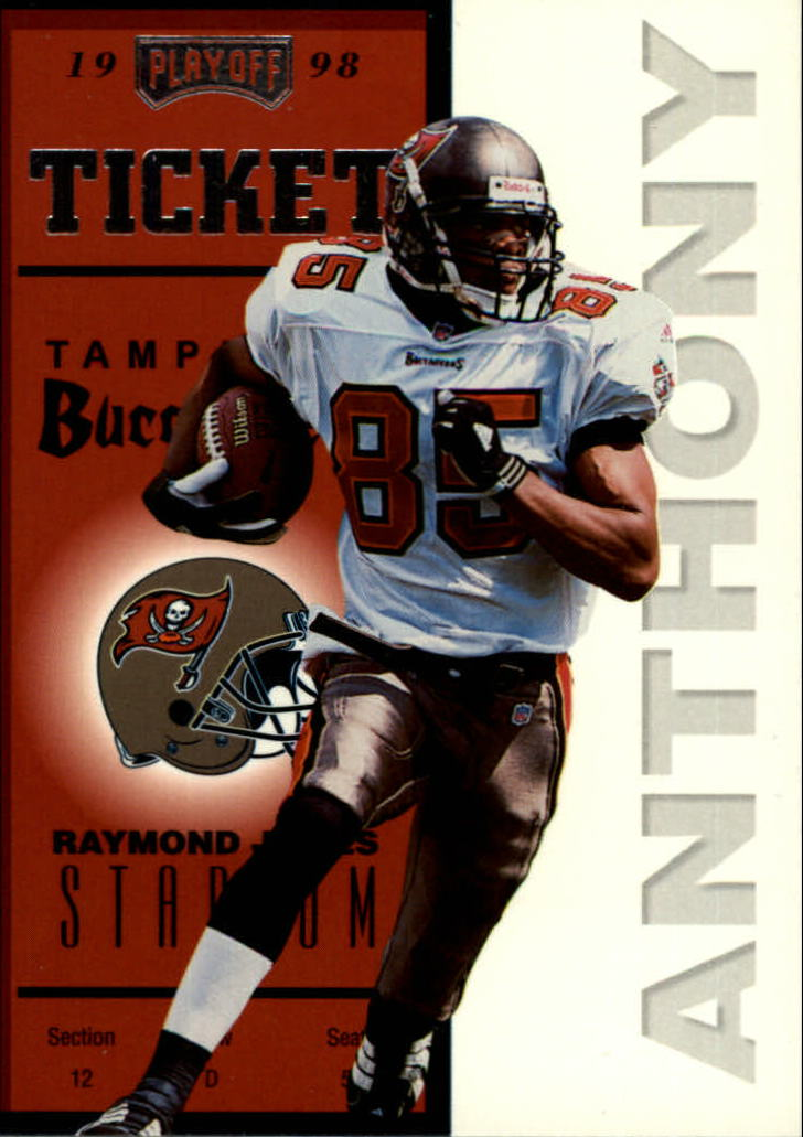 1998 Playoff Contenders Ticket #73 Reidel Anthony