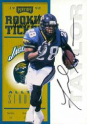 1998 Playoff Contenders Ticket Registered Exchange #89 Fred Taylor AUTO
