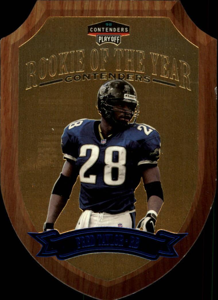 1998 Playoff Contenders Rookie of the Year #5 Fred Taylor